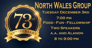 North Wales Group 73rd Anniversary Celebration