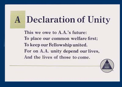 A Declaration of Unity