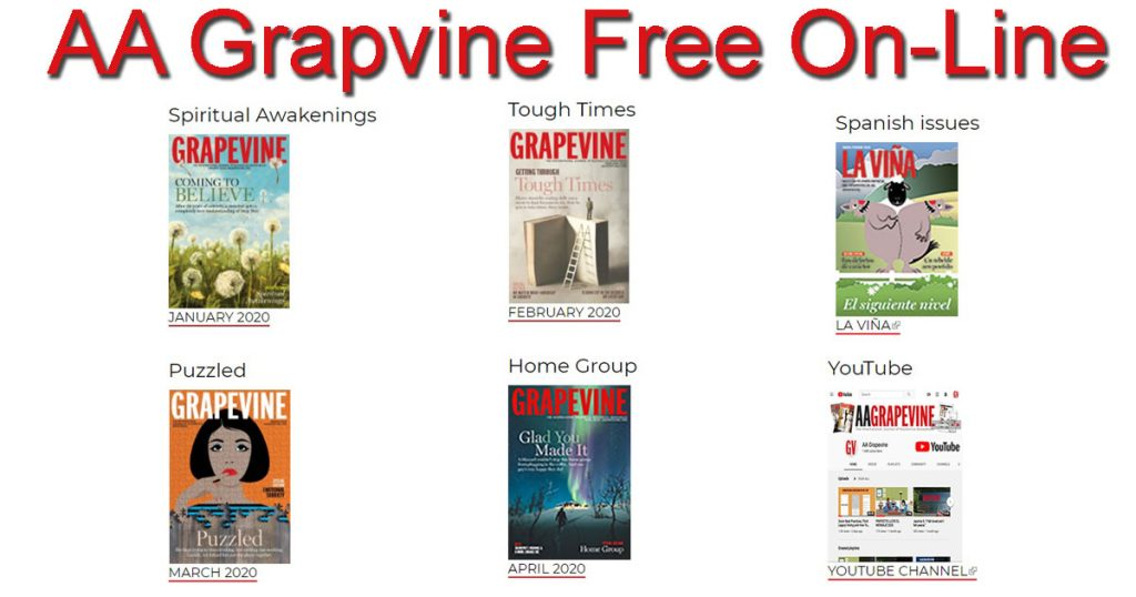 Grapevine is here to help during this corona virus crisis