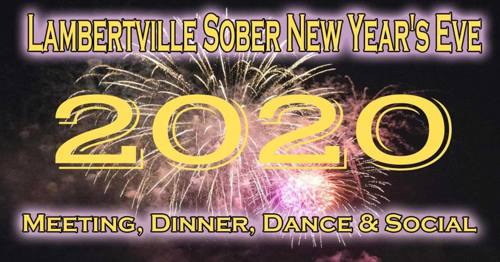 Lambertville Sober New Years Eve