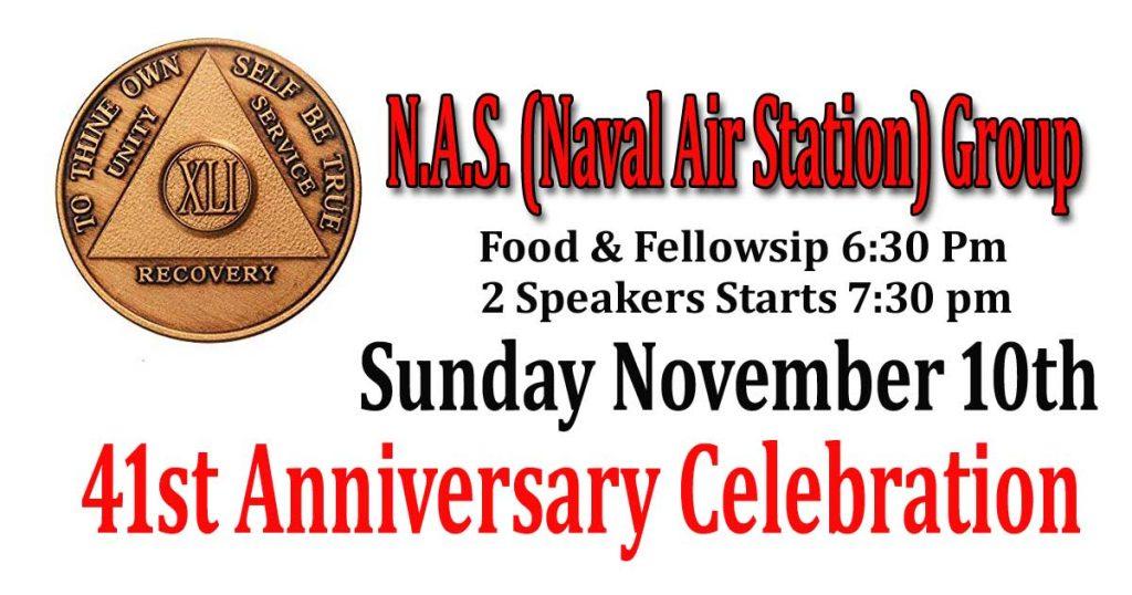 NAS 41st Anniversary
