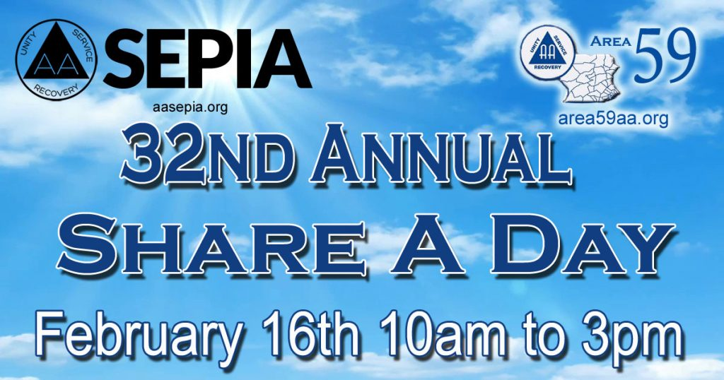 32nd Annual Share A Day