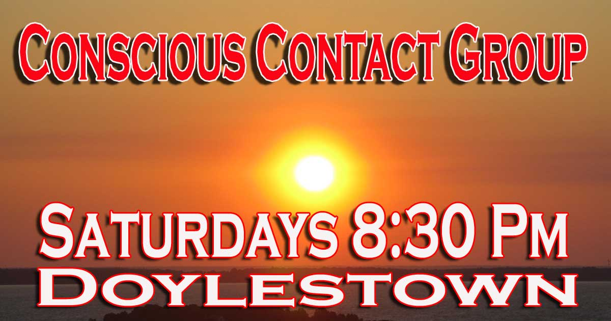 Conscious Contact Speaker Group of Doylestown
