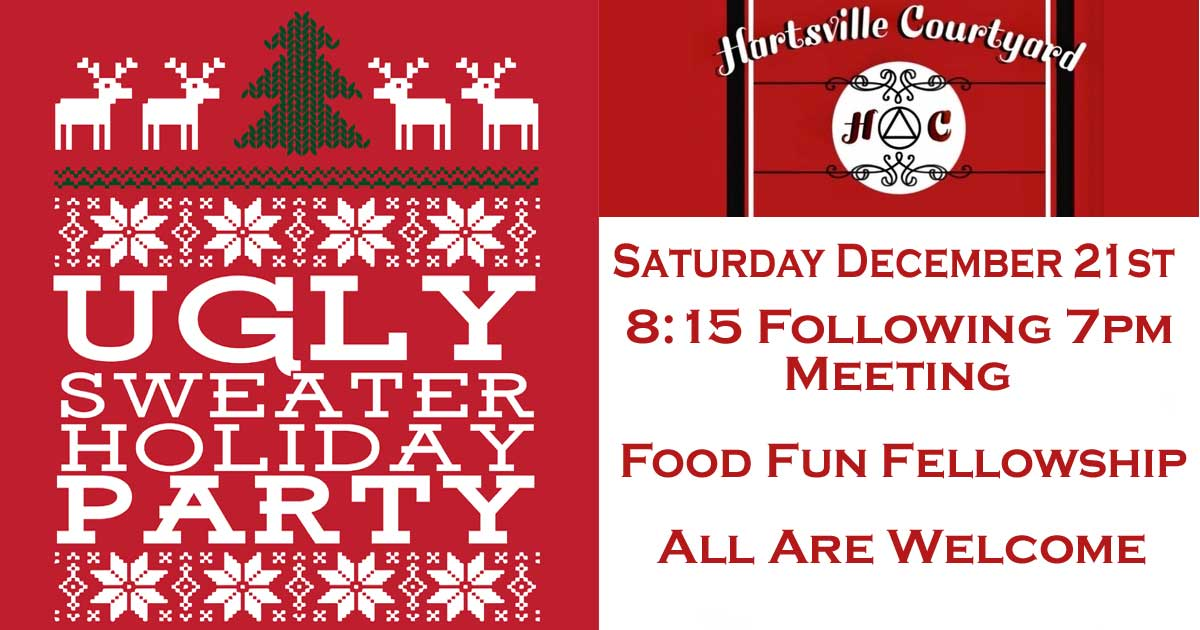 Hartsville Ugly Holiday Sweater Party